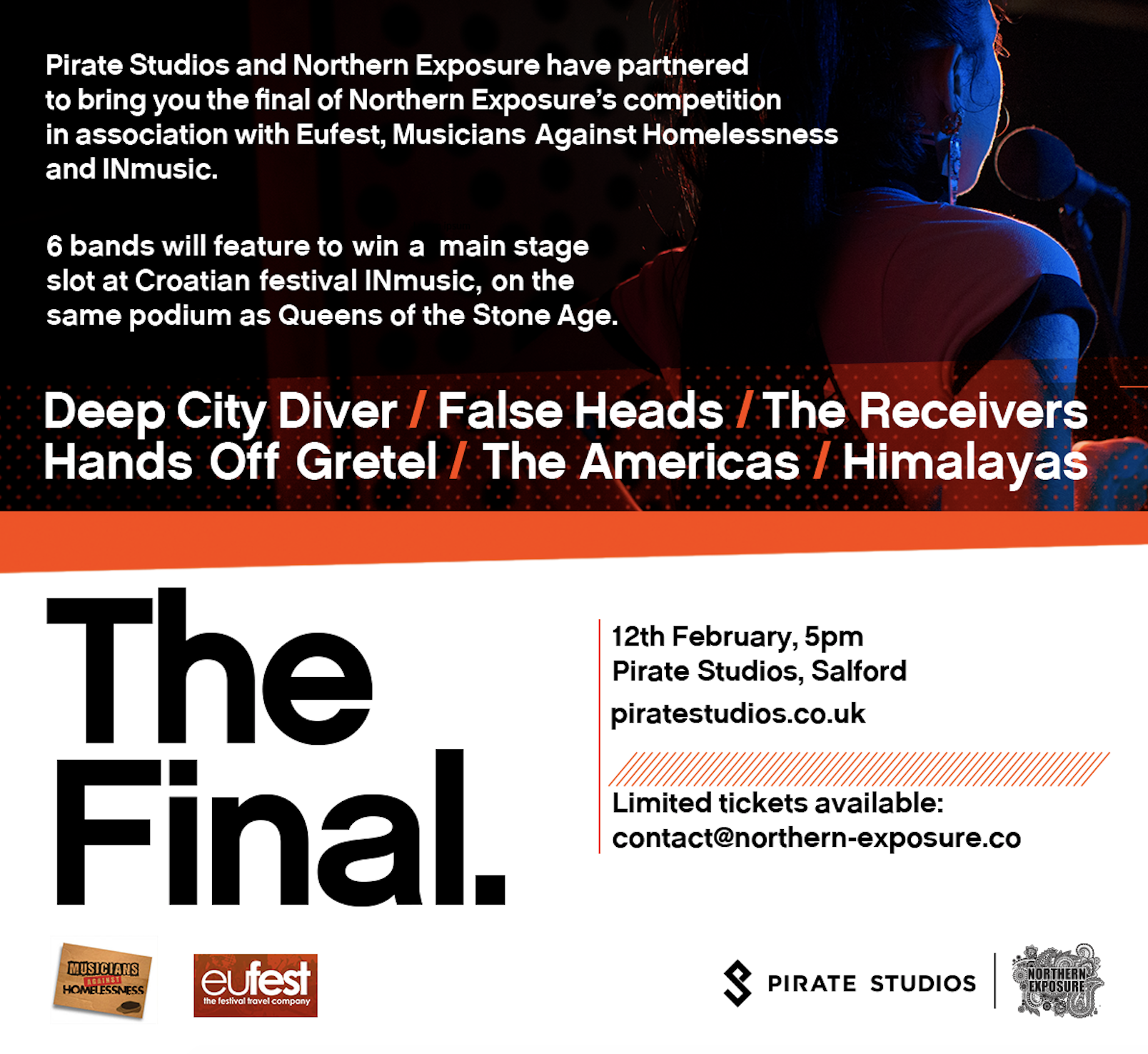 PREVIEW: NORTHERN EXPOSURE & PIRATE STUDIOS – THE FINAL