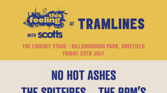 SHEFFIELD STEEL YOURSELVES – THIS FEELING HITS TRAMLINES