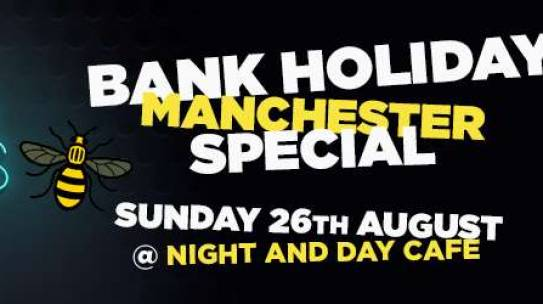 CLINT BOON ONE OFF BANK HOLIDAY DJ SPECIAL