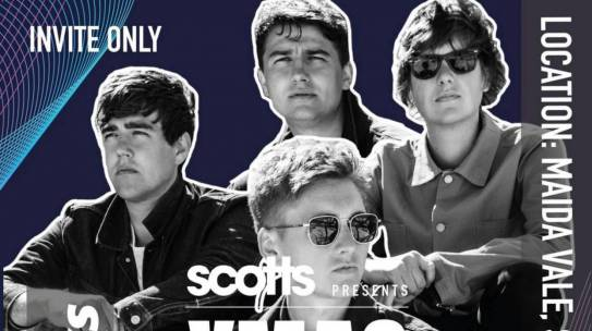REVIEW: SCOTTS XMAS LIVE WITH THE SHERLOCKS 17.10.19