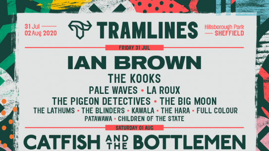 TRAMLINES BRINGS THE BEST OF THE  BEST TO SHEFFIELD WITH BIBLICAL LINE UP
