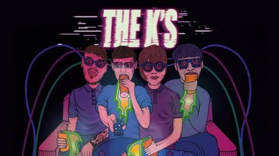 THE K'S SET TO RELEASE EXPLOSIVE INDIE PUNK ANTHEM 'TV'