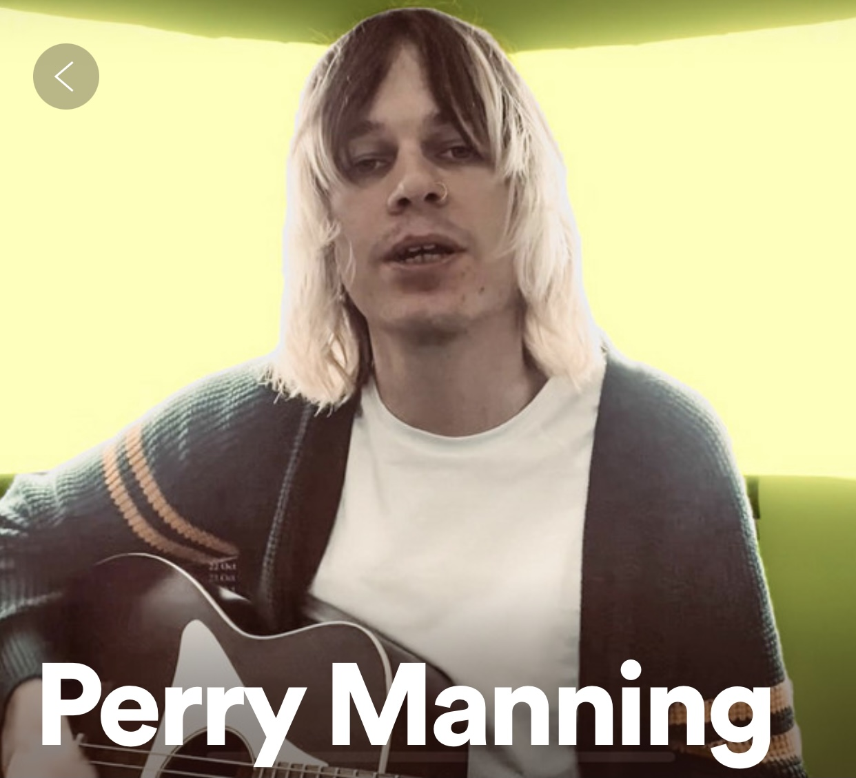 60 SECONDS WITH PERRY MANNING