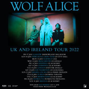 Wolf Alice - Tour Poster - 2